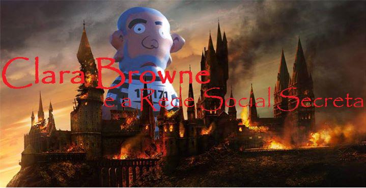 Imagem feita com a montagem de Hogwarts vai virar Cuba.